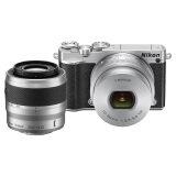 ขาย Nikon กล้องดิจิทัล รุ่น Nikon 1 J5 Mirrorless พร้อมเลนส์ 10 30Mm 30 110Mm สีเงิน Nikon