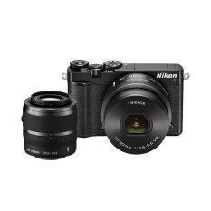 ขาย ซื้อ ออนไลน์ Nikon กล้องดิจิทัล รุ่น Nikon 1 J5 Mirrorless พร้อมเลนส์ 10 30Mm 30 110Mm สีดำ