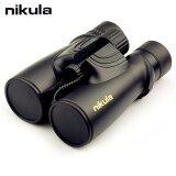 Nikula 10X42 Binoculars Professional Nitrogen Waterproof Telescope Powerful Bak4 Night Vision Binoculars For Hunting Travel Outdoor Sports Vocal Concert Ect Black Intl เป็นต้นฉบับ