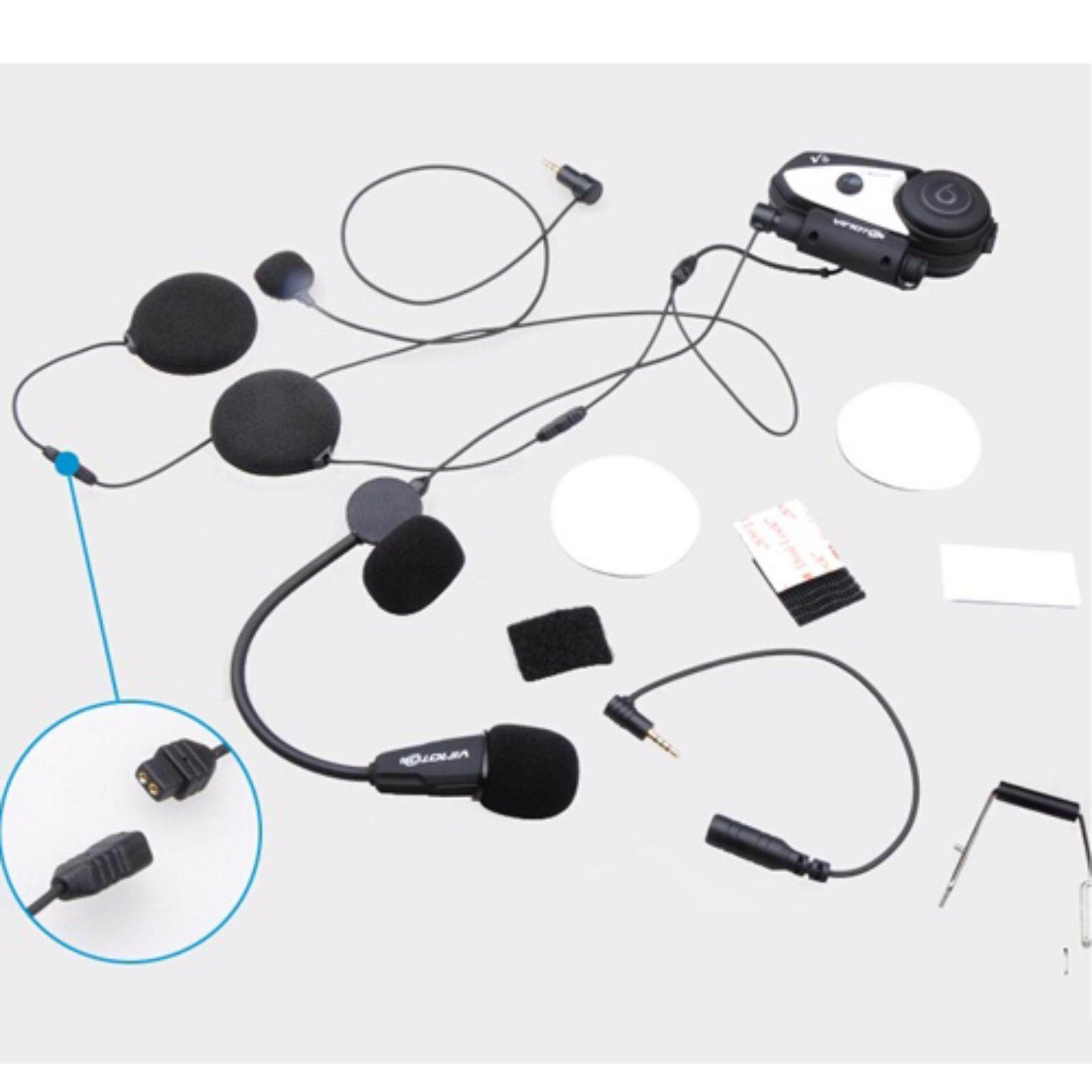 ใครรู้จัก  niky  บูลทูธติดหมวกกันน๊อต Helmet Bluetooth Intercom Vimoto V6 เสียงใสมาก