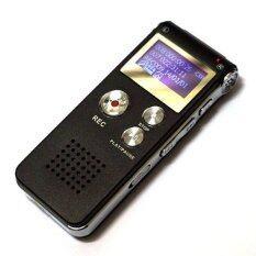 ราคา Nikyเครื่องบันทึกเสียง Ic Recorder มาพร้อมหน่วยความจำในตัว 8 Gb สีดำ ถูก