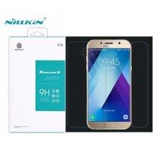ราคา Nillkin ที่น่าตื่นตาตื่นใจสูงป้องกัน Explosion กระจกนิรภัยป้องกันหน้าจอสำหรับ Samsung Galaxy A7 2017 A720 ล้าง นานาชาติ ราคาถูกที่สุด