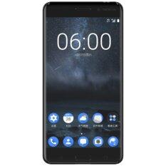 ราคา ราคาถูกที่สุด Nillkin For Nokia 6 Super Frosted Shield Pc Hard Case With Screen Protector Black Intl