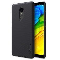 ขาย Nillkin มีน้ำค้างแข็งซุปเปอร์โล่พลาสติกกรณีปกคลุมด้านหลังอย่างหนักสำหรับ Xiaomi Redmi 5 พลัสป้องกันหน้าจอของขวัญ นานาชาติ เป็นต้นฉบับ