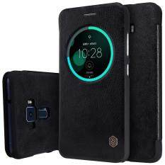 ทบทวน Nillkin Qin Series Smart View Leather Case For Asus Zenfone 3 Ze552Kl Black Intl