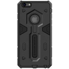 ขาย Nillkin Tpu ทนายความชั้นสองข้างพับได้ไปดูดหอยไฮบริดพีซีความขรุขระเคสสำหรับ Apple Iphone 6 Plus 6S Plus สีดำ ราคาถูกที่สุด