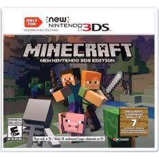 Nintendo 3ds Minecraft: New Nintendo 3ds Edition (us).