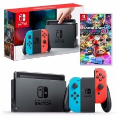 Nintendo Switch (Neon Red/Blue) FREE Mario Kart 8 (eng)