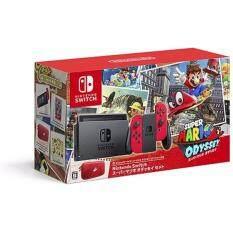 Nintendo Switch Super Mario Odyssey Bundle Set Jp En