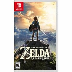 Nintendo Switch The Legend Of Zelda: Breath Of The Wild ( English Zone 1 ).