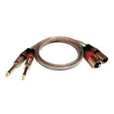 ความคิดเห็น Nke Audio สายสัญญาณเสียง3เมตร สายปลั๊ก Mic Mono 2 ออกปลั๊ก Xlr X 2