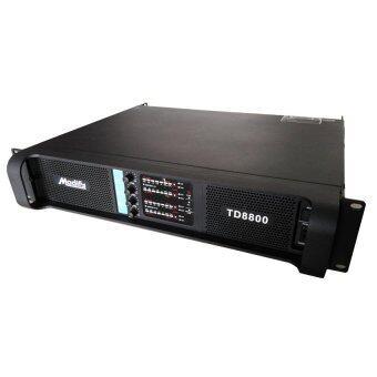 NKE เพาเวอร์แอมป์กลางแจ้ง 4 แชนแนล (4x2200W) MODIFY TD-8800