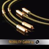 โปรโมชั่น Nobility Rca Cable สายสัญญาณ รุ่น Eagle E 280Xh ความยาว 1เมตร สีเหลือง 2 เส้น