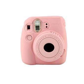 Noctilucent Camera สำหรับ FUJIFILM Instax Mini8 Mini8s สีชมพู - INTL-
