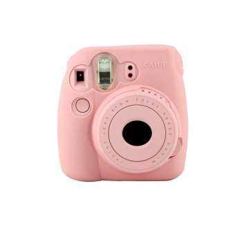 Noctilucent Camera สำหรับ FUJIFILM Instax Mini8 Mini8s สีชมพู-