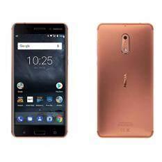 "Nokia 6 -โนเกีย 4G - 5.5""Full HD/Ram 3GB/Rom 32GB/16MP/8MP/New 2017/Copper / ประกันศูนย์"
