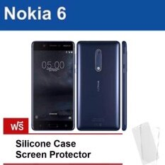 "Nokia 6 -โนเกีย 4G - 5.5""Full HD/Ram 3GB/Rom 32GB/16MP/8MP/New 2017/ Blue ประกันศูนย์"