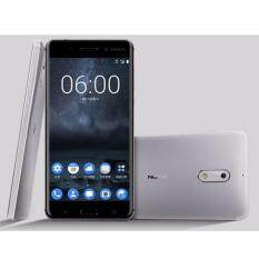 "Nokia 6 -โนเกีย 4G - 5.5""Full HD/Ram 3GB/Rom 32GB/16MP/8MP/New 2017/Silver ประกันศูนย์"