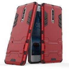 ขาย Nokia 8 Case Mooncase 2 In 1 Hybrid Rugged Armor Cases Cover Slim Thin Anti Scratch Shockproof Protective Sleeves As Shown Intl ผู้ค้าส่ง