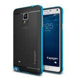 โปรโมชั่น Note4 Cover Case For Samsung Galaxy Note 4 N9100 Cell Phone Cases For Note4 Iv Back Shell Blue