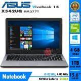ขาย Notebook Asus Vivobook 15 X542Uq Dm277T Dark Gray Asus ออนไลน์