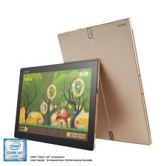 Notebook IP MIIX 700-12ISK 6Y 8G 256 10H/Core M5 6Y54 , 8GB, 256GB, W10 HOME High End; Active Pen; Wifi Only /Golden
