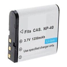 ทบทวน แบตกล้องรหัส Np 40 Cnp40 แบตเตอรี่กล้องคาสิโอ Casio Ex Z30 Ex Z40 Ex Z50 Z57 Ex Z300