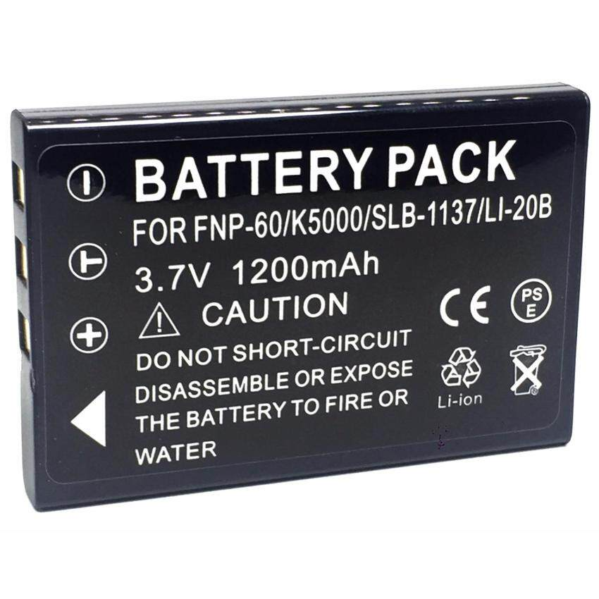 ทบทวน ที่สุด แบตกล้อง รหัสแบต Np 60 Fnp60 Sam Slb 1037 แบตเตอรี่กล้องฟูจิ Battery For Fuji Finepix 50I 601 F401 Zoom F601 F601Z By Ok999 Shop