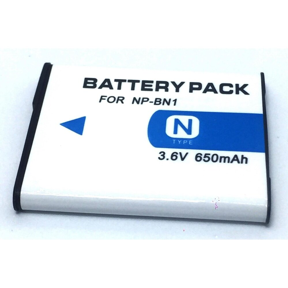 BATTERY For Sony NP-BN1 แบตกล้อง รุ่น NP-BN1 แบตเตอรี่กล้องโซนี่ Sony DSC-W650, W690, W710, W730, W800, W830, DSC-WX5, WX7, WX9, DSC-TX7, TX9, T99, T110 Replacement Battery for Sony