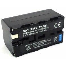 ขาย Np F770 แบตเตอรี่สำหรับไฟ Led และกล้องวีดีโอโซนี่ ใช้แทน Sony Np F550 F570 F750 Battery By Ok999 Shop For Sony เป็นต้นฉบับ