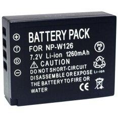 ทบทวน แบตเตอรี่ Np W126 สำหรับกล้อง Fuji X E1 Xe2 Xm1 Xt2 Xa2 Xt10 Xt1 Xpro2 Hs50 Black For Fuji