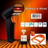 ขาย Nteumm S2 Wireless Barcode Scanner 2000Mah Bar Code Reader 2 4G Up To 50M Laser Barcode Scanner Wireless Wired For Windows Pc Intl ถูก