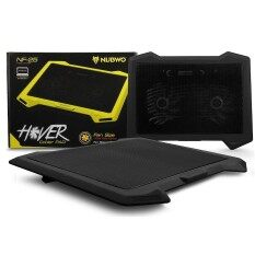 Nubwo พัดลมระบายความร้อนโน๊ตบุ๊ค 2ใบพัด Hover Cooler Pad Fan Notebook 2fan รุ่น Nf-25.