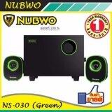 ขาย Nubwo ลำโพง คอมพิวเตอร์ 2 1 Mean Machine รุ่น Ns 030 Green ใหม่