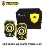 โปรโมชั่น Nubwo ลำโพง 2 1 Zoni Xshield Sub Woofer Speaker รุ่น Ns 031 สีดำเหลือง Nubwo ใหม่ล่าสุด