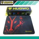 ซื้อ Nubwo แผ่นรองเม้าส์สำหรับเล่นเกมส์ รุ่น Np07 Speed Edition สีแดง Nubwo เป็นต้นฉบับ