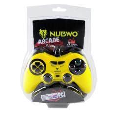 NUBWO จอยเกมส์ จอยคอม รุ่น NJ-28 (สีเหลือง)