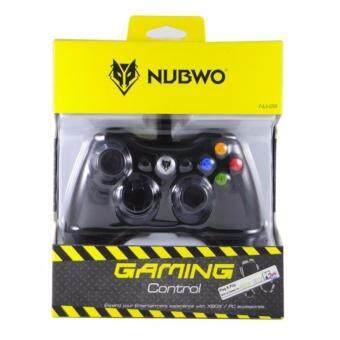 NUBWO จอยเกมส์ Joy Xbox 360 รุ่น nj-29 (สีดำ)