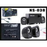 ราคา Nubwo Craned Ns 38 Bluetooth 2 1 Speaker ลำโพงบลูทูธ Aux 3 5Mm Usb อ่านSd Card ถูก