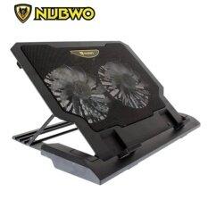โปรโมชั่น Nubwo Gaming Coolerpad พัดลมรองโน๊ตบุ๊ค รุ่น Nf 36 สีดำ Nubwo