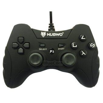 NUBWO จอยเล่นเกม Joy Nubwo NJ-35 สำหรับ PS3 PC (Black)