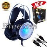 ขาย ซื้อ Nubwo Justice Stereo Headset Surround Sound หูฟัง No Q2 Black Silver ใน ไทย