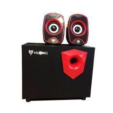 ขาย Nubwo ลำโพง Nubwo Zoni Xshield Sub Woofer Speaker รุ่น Ns 031 สีดำแดง Nubwo