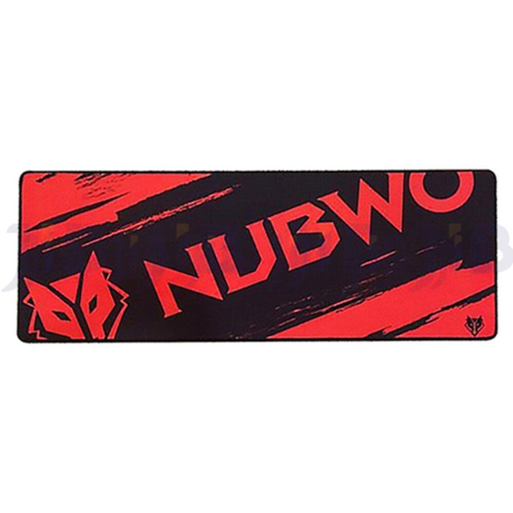 NUBWO LONG GAMING MOUSE MAT NP 021 (RED)