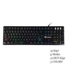 Nubwo MAJESTIC Semi Mechanical switch Gaming Keyboard รุ่น NK-45