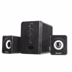 Nubwo Shadow ลำโพงมีชับ เบสหนัก2 1 Subwoofer Speaker Usb รุ่น Ns 32 สีดำ เป็นต้นฉบับ