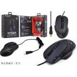 โปรโมชั่น Nubwo X Hydra Extreme Gaming Mouseรุ่นX3 Black ถูก