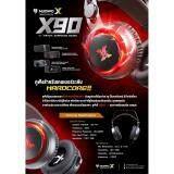 โปรโมชั่น Nubwo X90 7 1 Surround Sound Virtual Gaming หูฟัง มีไฟ Usb 7 1 ใน กรุงเทพมหานคร