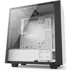 NZXT S340 Elite Mid Tower Case Matte White