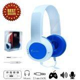 Oakorn Headphones Speaker M1 Blue หูฟังแบบมีสาย รุ่น M1 สีน้ำเงิน ถูก